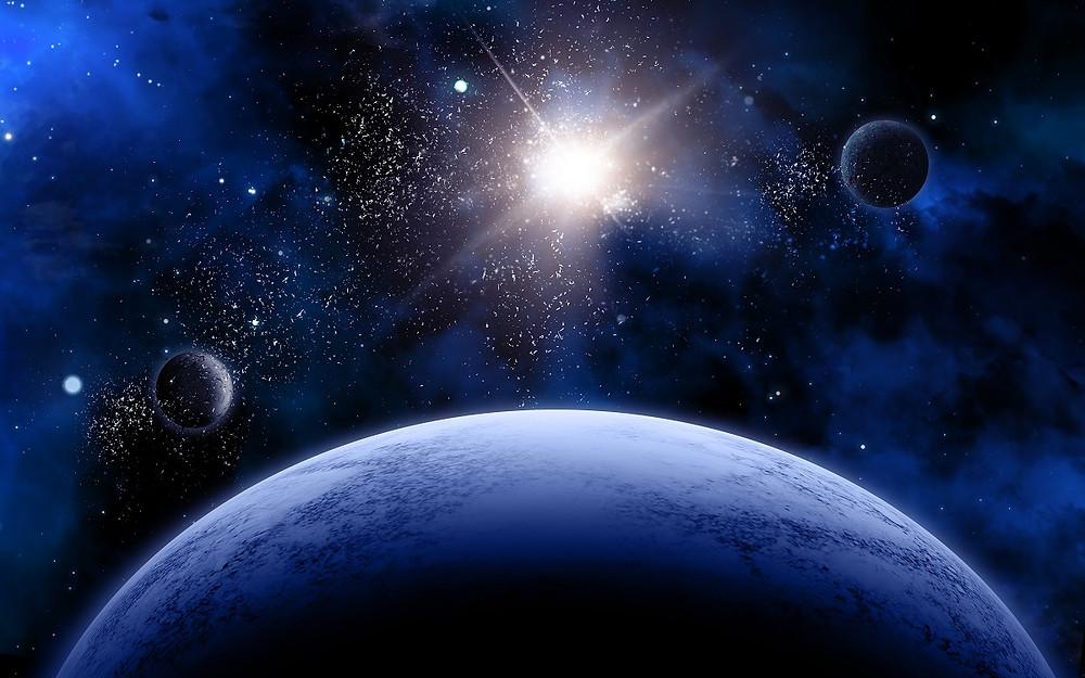 כוכב בחלל