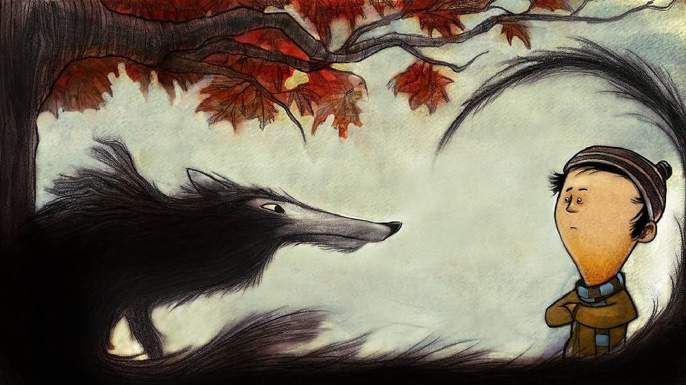 תמונה מתוך פטר והזאב
