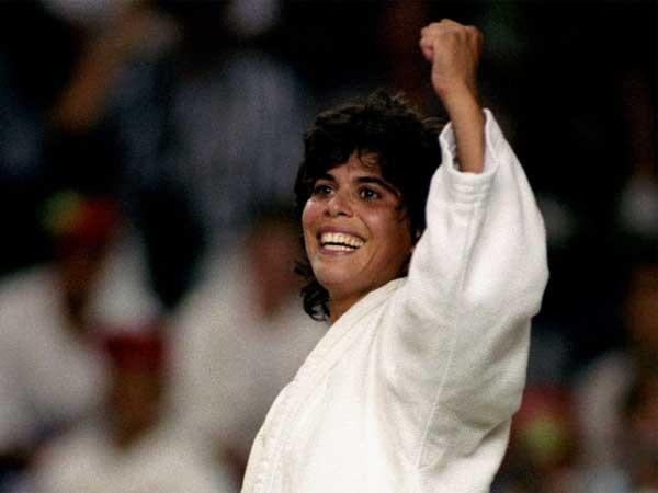 יעל ארד רגע אחרי הנצחון באולימפיאדה