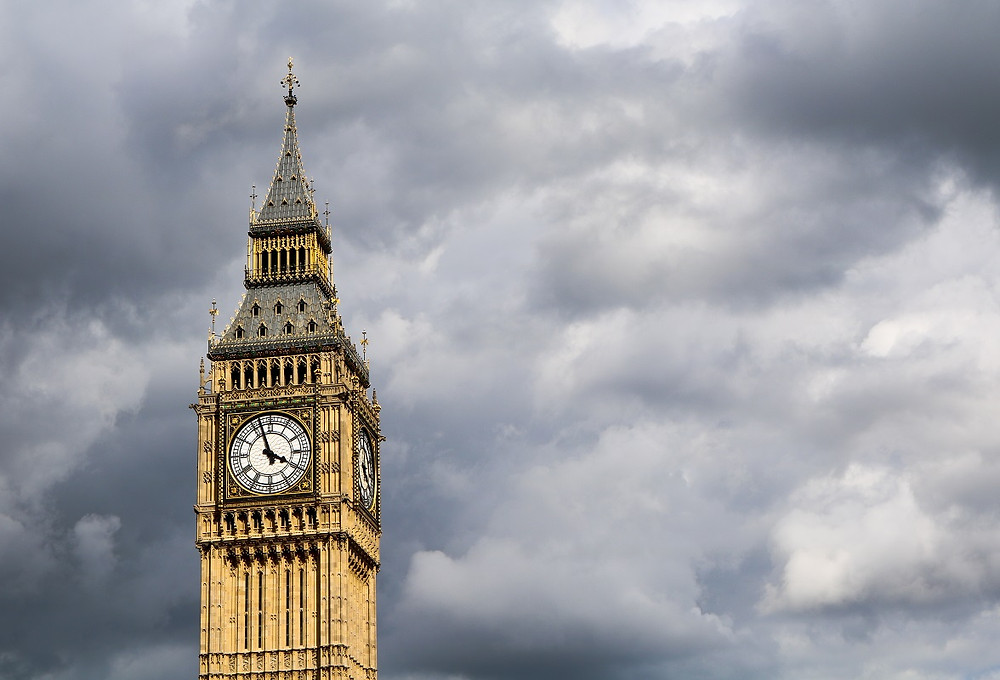 צריח מגדלי הפרלמנט הבריטי
