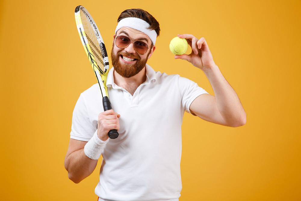 שחקן טניס