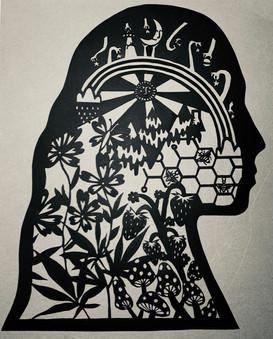 Self-Portrait Silhouette (2020)
