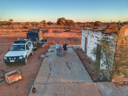 The Great Escape - Australia free camping at Big Bell