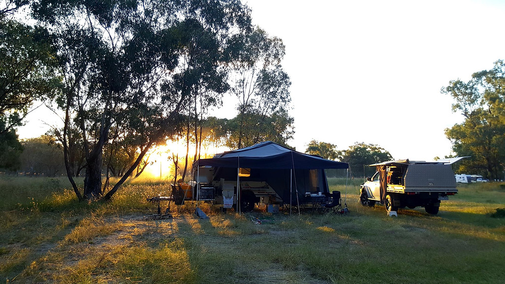 Texas free camp Queensland