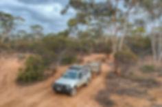 The Great Escape - Australia Cub Camper on the Holland Track