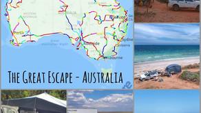 THREE YEARS TRAVELLING AROUND AUSTRALIA!