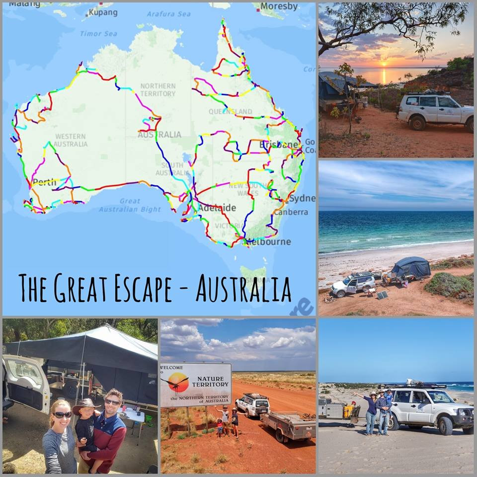 3 years travelling Australia with The Great Escape - Australia