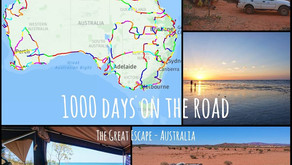 1000 DAYS ON THE ROAD