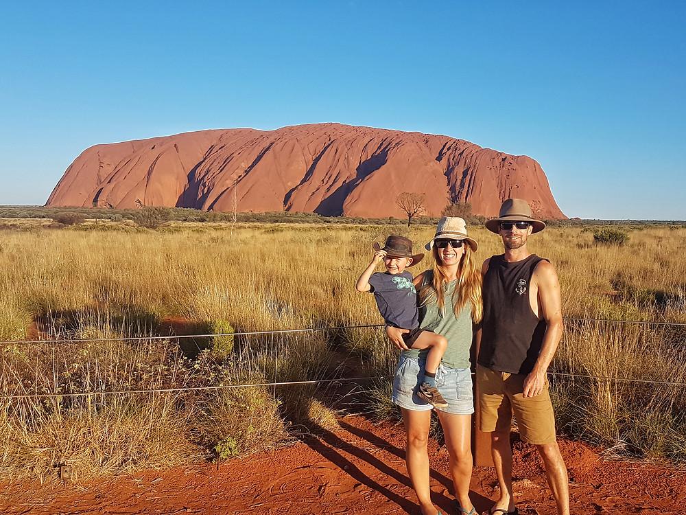 Exploring Uluru - Kata-Tjuta National Park with The Great Escape - Australia
