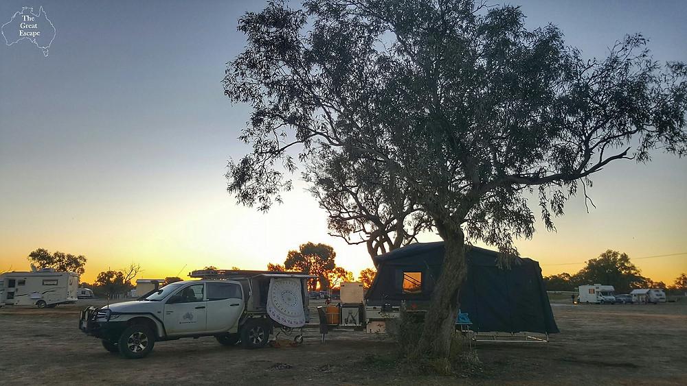 Piliga bore baths & free camp