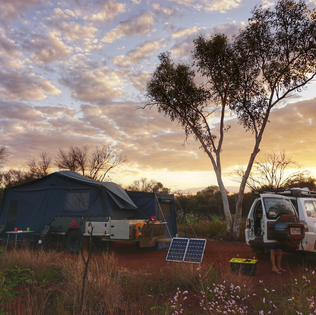 Camping Karijini National Park