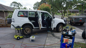 CLEANING A 4X4 FOR EXPORT TO NEW ZEALAND