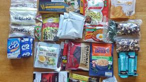 FOOD FOR A FOUR DAY HIKE