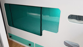 DIY BABY SAFETY BARRIER FOR A CARAVAN BUNK BED