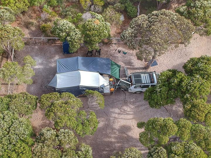 Cub Camper trailer 12v set up