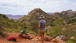 THE WEST MACDONNELL RANGES, NT