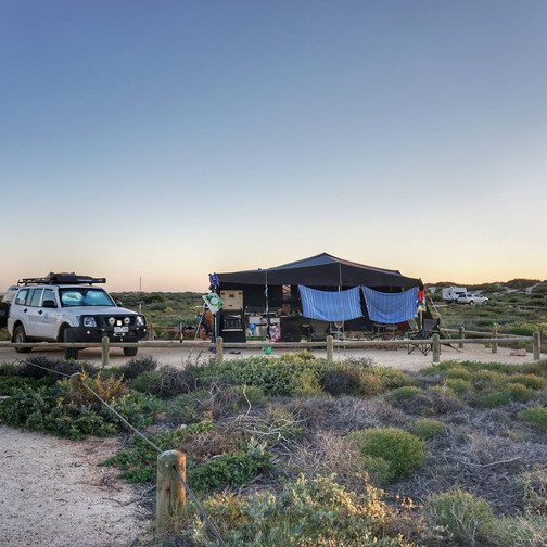 Camping in Cape Range NP