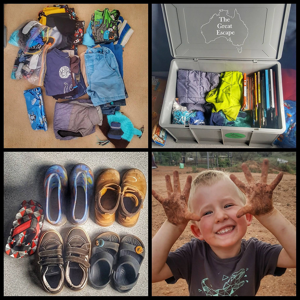 Packing list -the kid