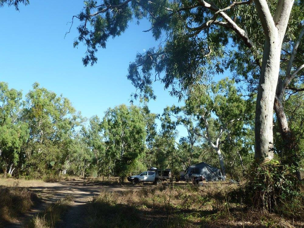 Walkers creek free camp karumba