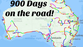 900 DAYS ON THE ROAD
