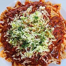 Beef Ragu with Farfalle Pasta