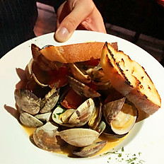 Manilla Clams or Mussels
