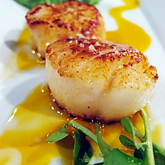 Fiery Sea Scallops