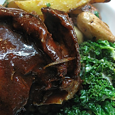 Balsamic Braised Lamb Shank