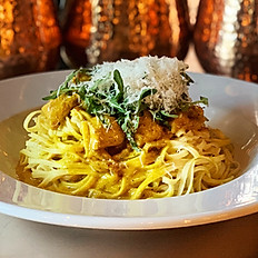 Saffron Chicken Linguini