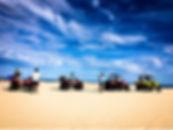 Kalbarri quad biking along Wagoe Beach
