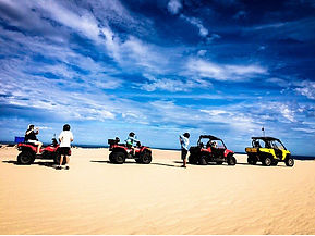 Kalbarri quad biking along Wagoe Beach