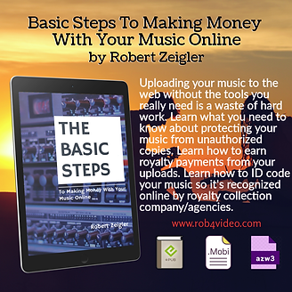 Basic Steps To Making Money With Your Music Online | Robert Z