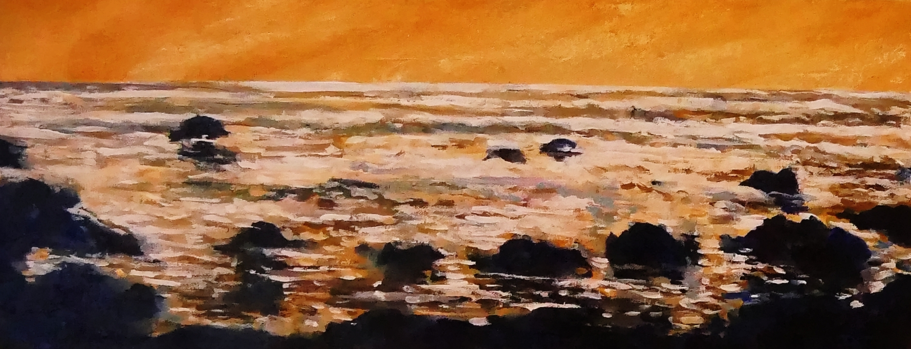 Running Tide, Yellow Ochre