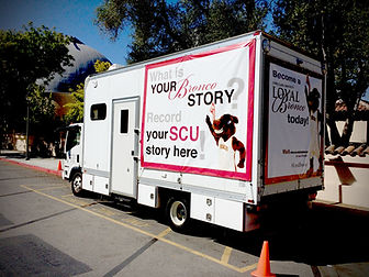Mobile TV Studio for Oral Histories
