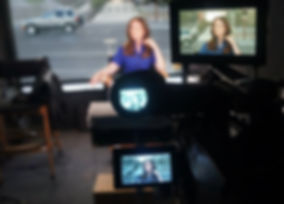 Inside the Mobile TV Studio set
