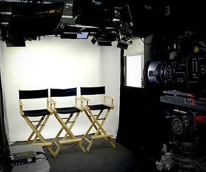Mobile TV Studio interior for oral history