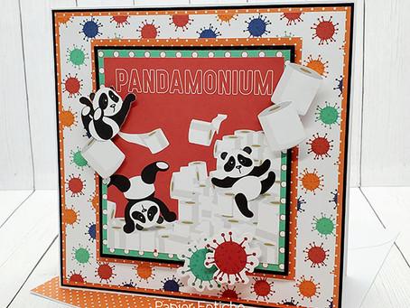 It's PANDA-MONIUM!!! PhotoPlay Paper