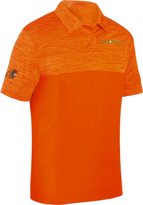 36 Men's Shadow Embroidered Polo