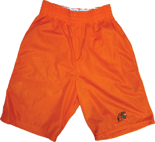 8 Tri-Cot Mesh Athletic Embroidered Shorts