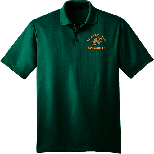 35 Men's Dry Fit Embroidered Polo