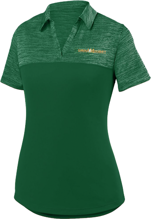 17 Ladies Shadow Embroidered Polo