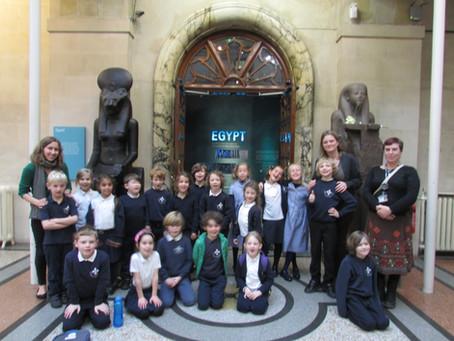 Hazel Class trip to Bristol Museum