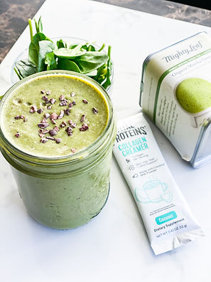 The Matcha Mint Smoothie