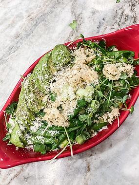Simple Sugar Snap Pea Salad