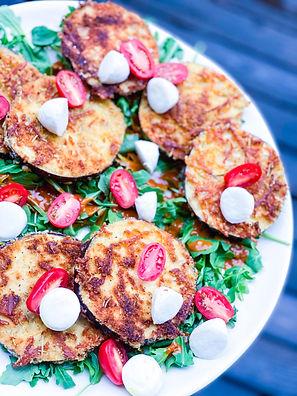 Eggplant Parmesan Salad