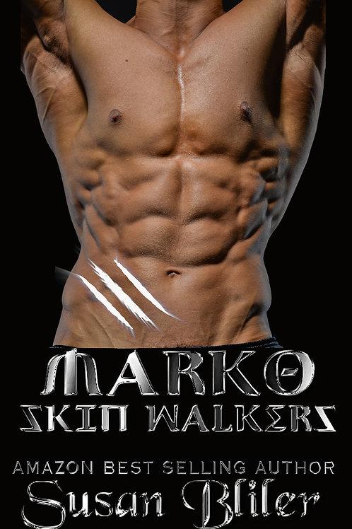 copy of Marko:  Skin Walkers book 16