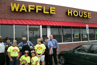 Waffle House Inc. and Sanford's first Responders help create great citizens