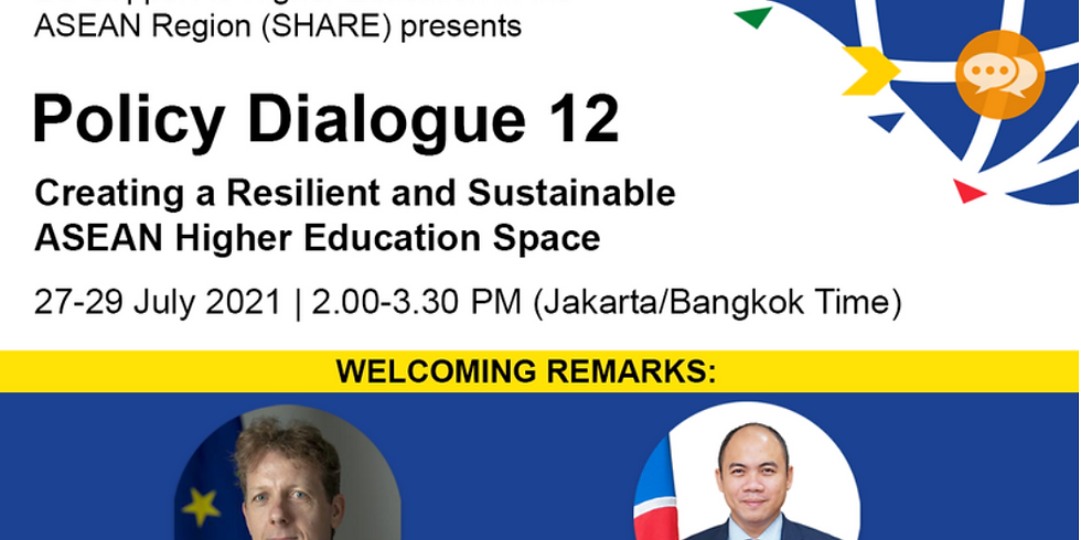 EU Support to Higher Education in the ASEAN Region - Policy Dialogue 12