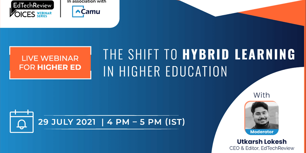 The Shift to Hybrid Learning in Higher Ed