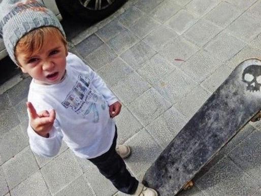 Обучение на скейте для детей младше 5 лет